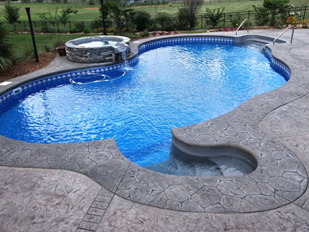 Vinyl Liner Pools Dabbs Brothers Custom Pools
